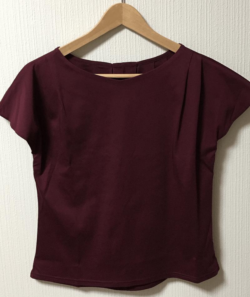 エアークローゼット-食事デート-カットソー-